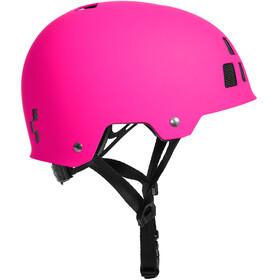 Cube Dirt Helmet Kinder pink